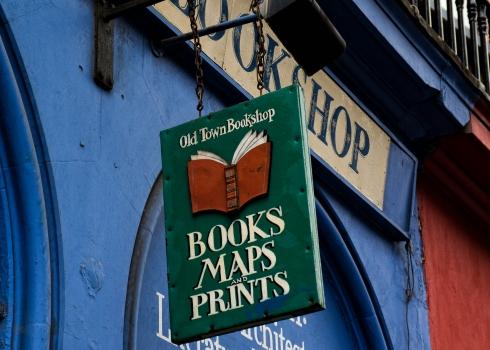 Edinburgh, books, bookshop, Scotland