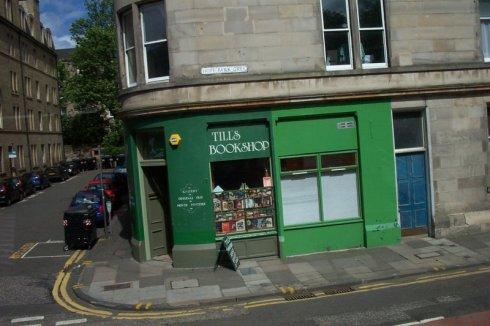 Edinburgh, books, bookshop, Scotland,