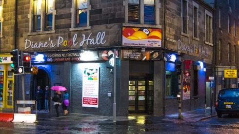 Diane's Pool Hall, Morrison Street, Edinburgh (exterior)